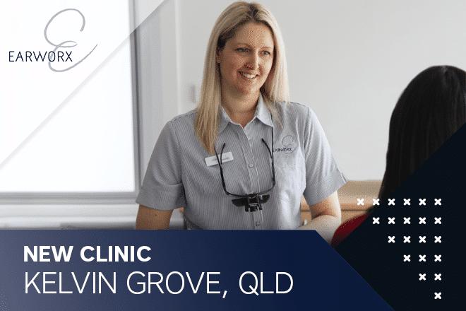 earworx nurse at new Kelvin Grove clinic