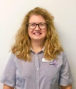 Head shot of Alanna Cook, Hobart nurse